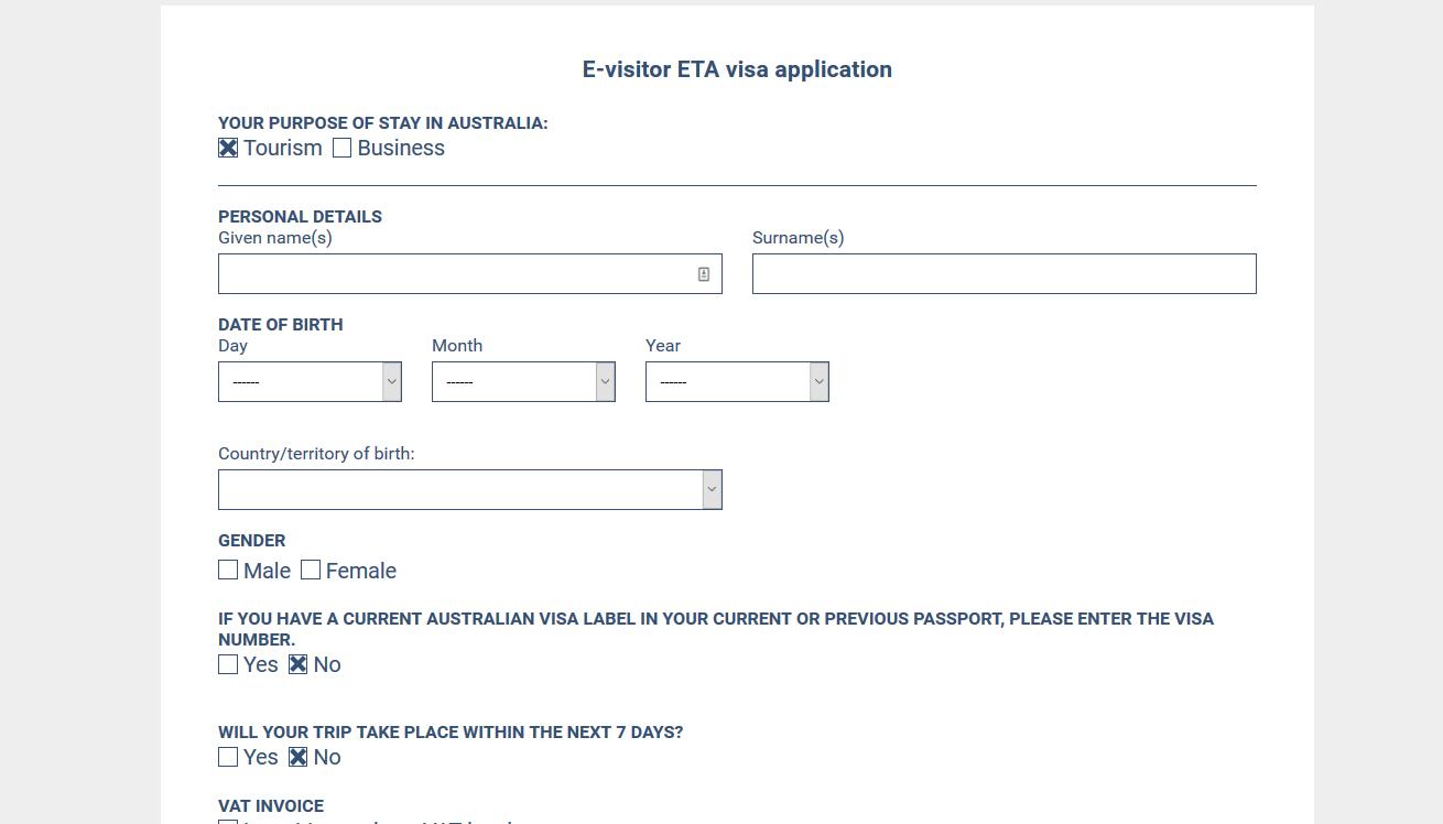 Australia Visa For US Citizens